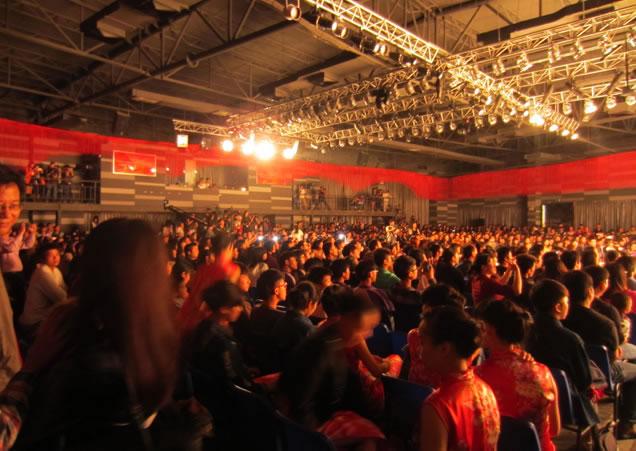 东莞纺织服装学校毕业设计大赛舞台